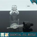 30ml 1oz effacent la bouteille en verre de compte-gouttes avec le chapeau sans danger pour les enfants