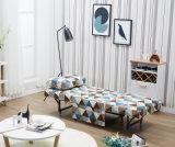 Singolo sofà multifunzionale favorevole stupefacente del tessuto