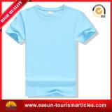 卸売の100%年の綿の円形の首のカスタムTシャツのテリー布