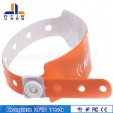 Подгонянный Wristband PVC RFID франтовской для идентификации младенца