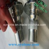 L'acciaio di forgia e lavorante galvanizza il mozzo scanalato