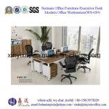 조합 지원실 책상 나무로 되는 워크 스테이션 테이블 (WS-06#)