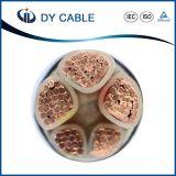 PVC/XLPE a isolé le câble d'alimentation de cuivre flexible de conducteur de 3 faisceaux