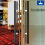Ручка формы h тяги двери нержавеющей стали стеклянная