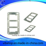 習慣CNCの機械化の金属プロトタイプ携帯電話の金属の箱の部品