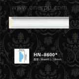 Panneau d'unité centrale moulant la corniche Hn-8600 de polyuréthane de décoration de mur d'unité centrale