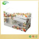 PVC Windows (CKT-CB-145)를 가진 주문 마분지 선물 찻잔 상자