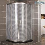 Eckreparierter Schiebetür-Dusche-Raum der sektor-Form-Aluminiumlegierung-zwei (BL-Z3511)