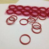 De rode O-ringen van de O-ring Pu van het Silicone