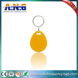 アクセス制御のための125kHz黄色いデジタルRFID Keyfob