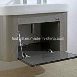 Governi popolari di vanità della stanza da bagno della mobilia dell'acciaio inossidabile (T-013)