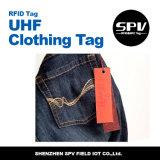 Бирка одеяния UHF Sika бумажная RFID