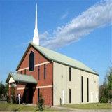 Edificios de iglesia prefabricados de la estructura del metal con Niza diseño