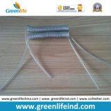 Безопасности катушки веревочки черноты провода нержавеющей стали планка пластичной Extendable