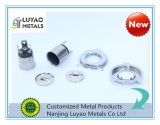 Metal de folha de alumínio feito sob encomenda Stampings/carimbo quente