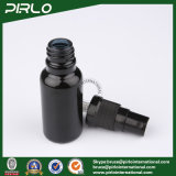 20ml de zwarte Flessen van de Nevel van het Glas met de Zwarte Fijne Spuitbus van de Mist