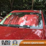 Carro colorido Using a máscara de Sun