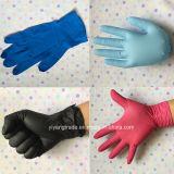 Перчатки свободно нитрила порошка устранимые с высоким качеством