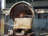 Taglierina di pietra automatica per l'alimentazione di riga del blocchetto del marmo del granito