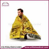 황금 응급 의료 구조 은은 응급조치 담요를 데운다