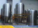 1000L白ワインの発酵槽タンク