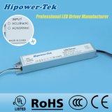 excitador de alumínio atual constante do diodo emissor de luz da fonte de alimentação do caso 60W