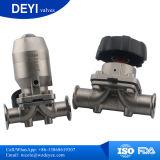 Soupape à diaphragme de l'acier inoxydable Ss316L Aspetic