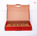 Fournisseur fait sur commande de boîte-cadeau de papier ondulé d'impression de couleur de Pantone