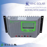 Controlador de cargador de batería del sistema de energía solar 12V40A Solar