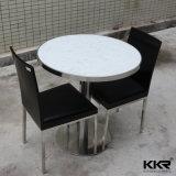 Table de salle à manger en marbre en marbre solide