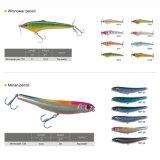 Señuelo magnífico de la pesca del sábalo de la sepia del gancho de leva de la alta calidad Vmc de la venta