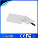2016년 Hotsale 선전용 선물 플라스틱 신용 카드 USB 섬광 드라이브 1GB