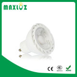 ESPIGA GU10 Dimmable do bulbo do diodo emissor de luz da luz do ponto 7W