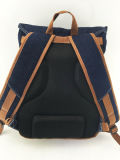 軽量の柔らかいジーンのバックパックのスポーツ袋、方法旅行学校は女子大生レディースのためにBackpacks、男の子は人を配置する