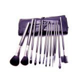 logo fait sur commande direct des produits de beauté 12PCS de professionnel gris de brosse de lecture