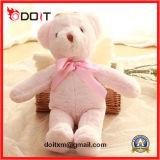 O urso de seda da peluche encheu o urso cor-de-rosa do luxuoso do urso