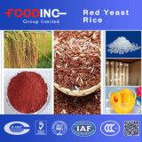 Polvo rojo del arroz de la levadura del color de alimento