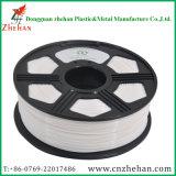 Weißes Drucken Plastik-ABS Heizfaden der Farben-3D für Drucker 3D