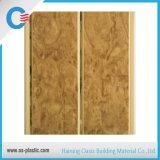 panneau de mur moyen de plafond de PVC d'impression de cannelure de largeur de 20cm