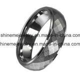 Ring van het Carbide van het Wolfram van de Manier van de Juwelen van het lichaam de Knipsel Gefacetteerde