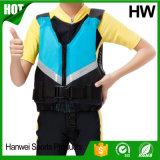 Personalizado transportando la pesca de la seguridad en balsa embroma el chaleco de vida (HW-LJ036)