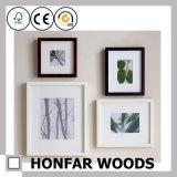 Frame de retrato de madeira do preto da madeira contínua para o estúdio da foto
