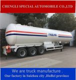 Gana 20ton 25mt Lubrificado Petroleum Gas LPG Road Tanker Semi Truck Trailer