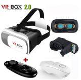Casella 2 della nuova generazione 3D Vr con il regolatore della casella di Vr per i film 3D ed i giochi