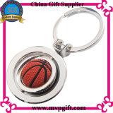 Metallo Keychain per il regalo dell'anello portachiavi di gioco del calcio
