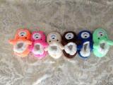 6つのカラー赤ん坊様式の屋内靴