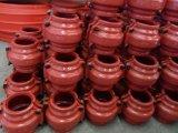 Schelle, Reparatur-Muffe, Einschalungs-Muffe, aufgeteilte Muffe reparieren für gerades galvanisiertes Rohr und Stahlrohr, Onlineleck-Reparatur