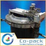 Máquina de enrolar de flange montada hidráulica rápida portátil