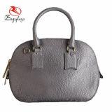 Pequeño bolso de cuero del shell del bolso de moda de las mujeres