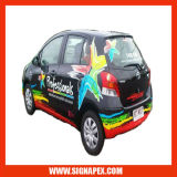 Etiquetas engomadas autas-adhesivo de la ventana de coche de la película del vinilo (SAV08120M)